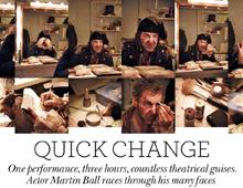 Completely London. Quick change – Les Misérables