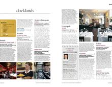 Square Meal. London Docklands restaurant reviews