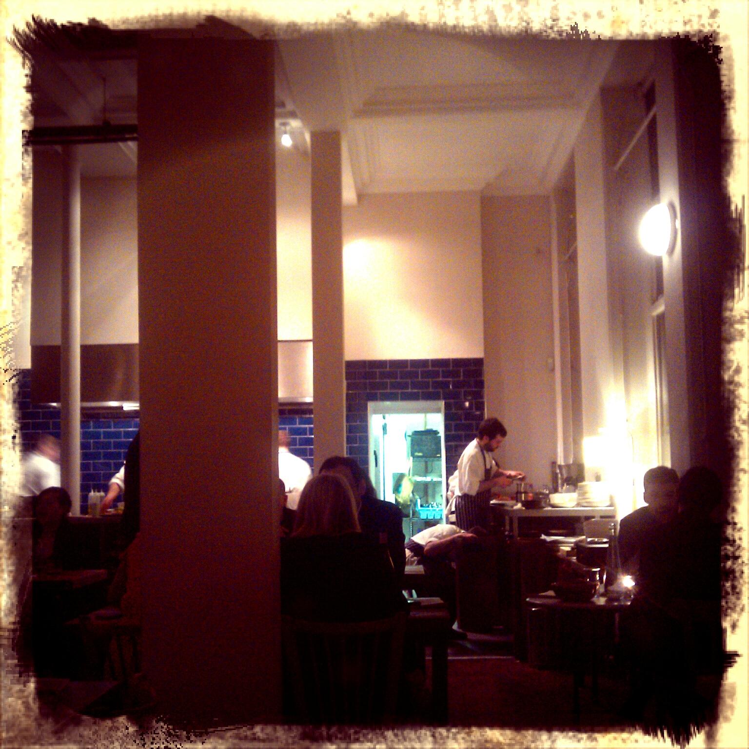 Clove Club dining room